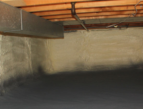 crawl space spray insulation for Minnesota